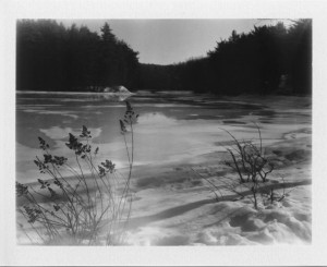 Coggshall Park Fitchburg MA 2 17 11 Polaroid 230 Cloud Filter Fuji Fp3000B DSR Applied