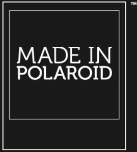 "Polaroid's Official ""Made In Polaroid"" Watermark Logo"