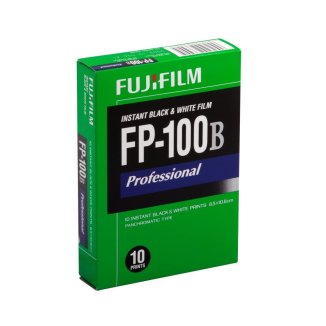 The Now Discontinued Fuji Professional FP-100B Panchromatic B&W Instant Film