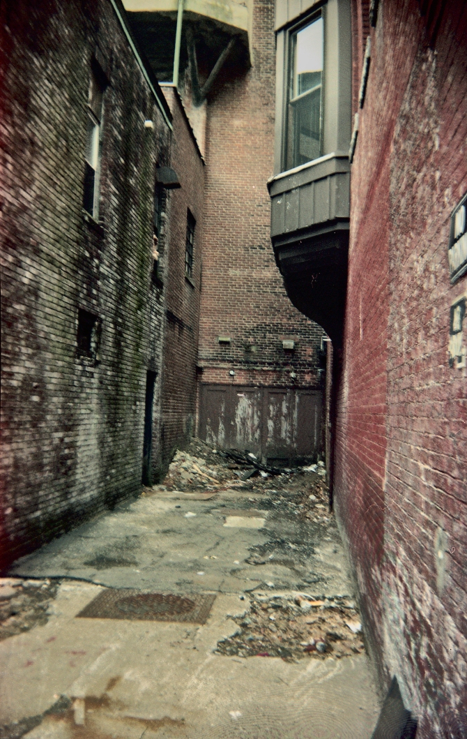 An Abandoned Alleyway, Captured With The Holiday.