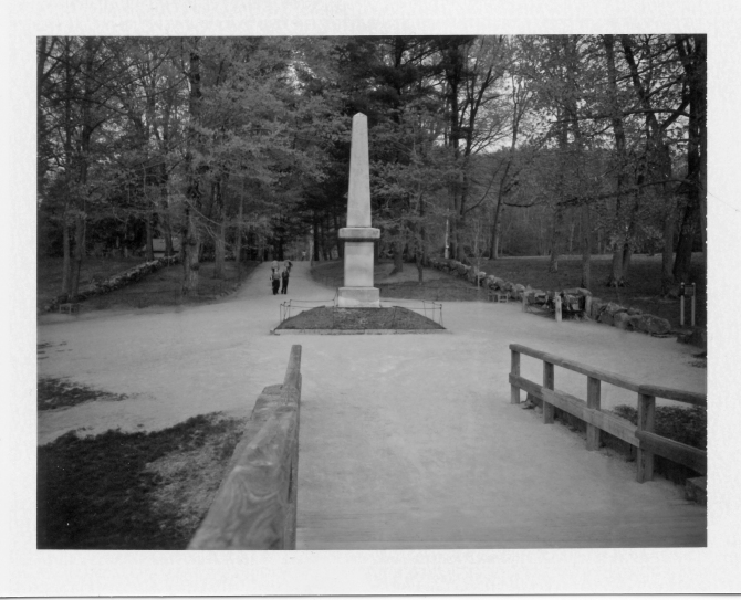 Memorial As Seen From The Old North Bridge, Concord, MA