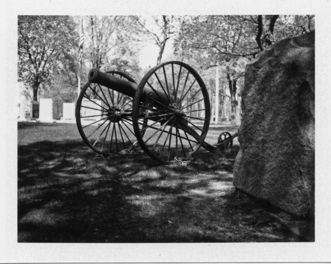 Revolutionary Cannon, Leominster Common, Leominster, Massachusetts