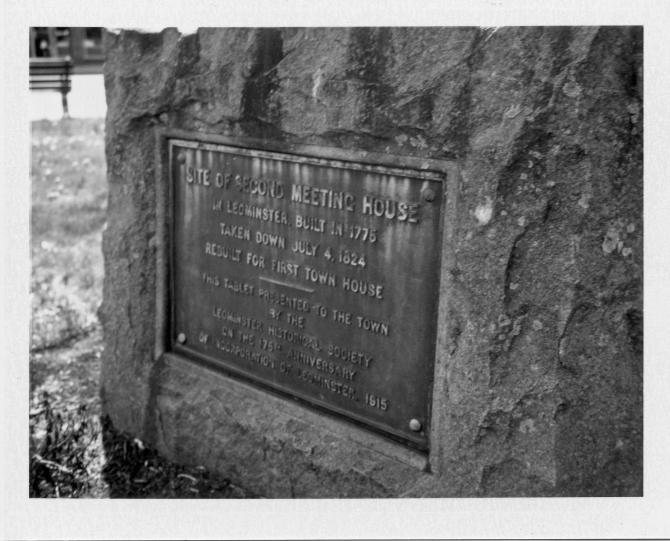 Meetinghouse Site, Leominster, MA
