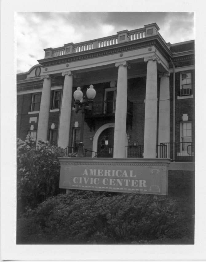Americal Civic Center, Home Of Photographica, and The PHSNE