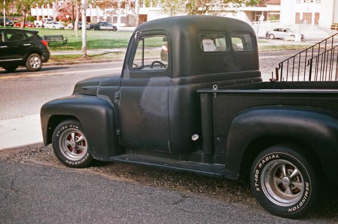 Vintage Pickup Truck, Elm Park, Worcester, MA, Taken With Argus C-3, Fujicolor 200