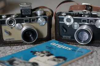 "Argus C3 MatchMatic, C3 Standard, And ""The Argus 35mm Guide"", by Dr. Kenneth Tydings, S.P.E."