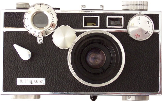 The Brick, The Argus C3 Camera