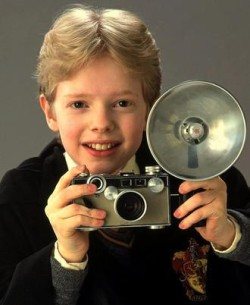 Harry Potter's Friend Colin Creevey, An Enthusiastic Argus Shooter