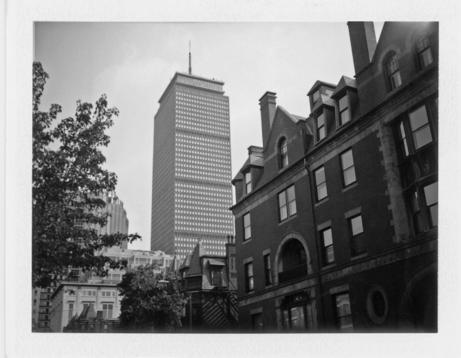 The Prudential Tower, Copley / Back Bay, Boston, Massachusetts