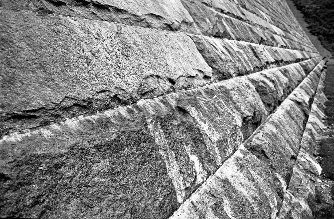 The Walls Of The Dam, Wachusett Reservoir, Clinton, MA