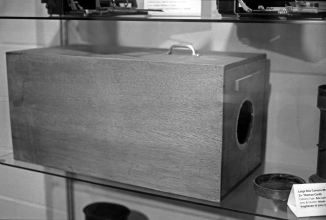 Vintage Box Camera With Voightlander Lenses
