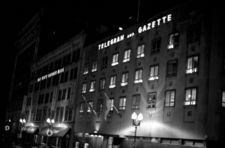 Main Office Of The Worcester Telegram And Gazzette, Worcester, Massachusetts' Newspaper