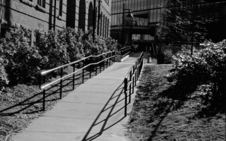 Walking To The Hammond Building