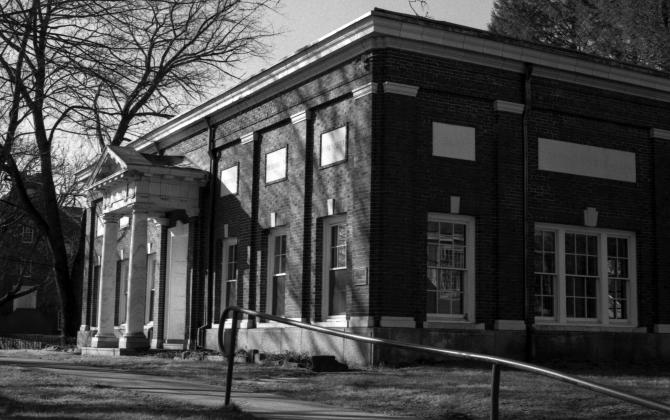 Historic hall.