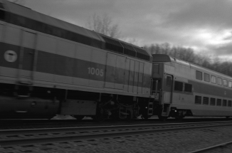 MBTA Commuter Rail On Its Way To Boston
