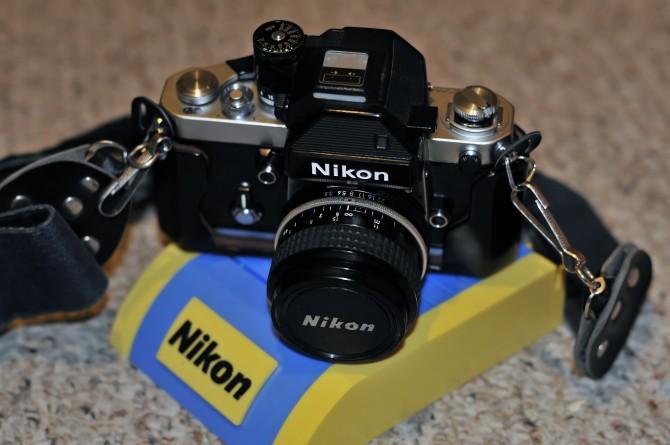 Nikon F2S, Built In Japan, In 1976.