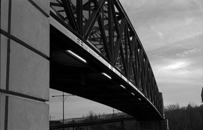 Favorite Shot From The Day- This Bridge Spans Overhead