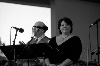 Vocalists Jane Shivick And Michael Calmes