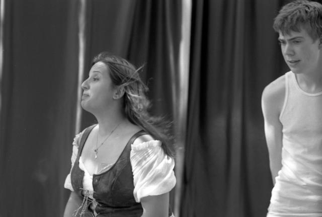 (11) Loves Labour Lost Fitchburg Theatre Company 6 24 12 Nikon F3 135mm f2.8 Kodak PlusX