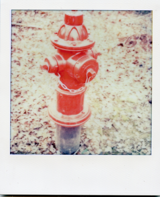 Fire hydrant. It really is this red.