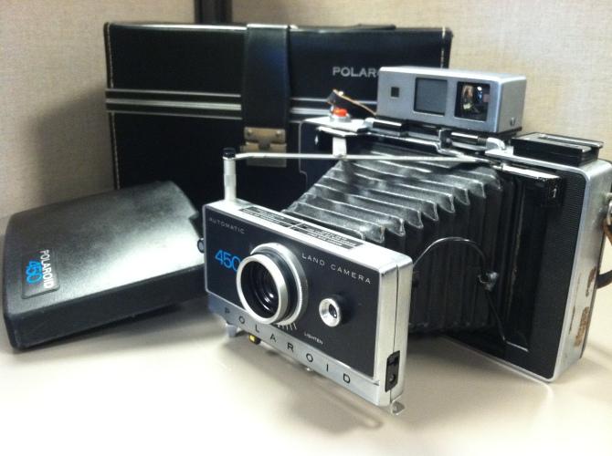The Polaroid Model 450 Automatic Land Camera