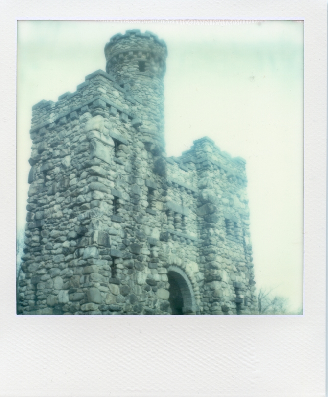 Bancroft Tower, PX-70 Color Protection, No Cold Clip. Bluish Tones.