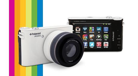 The Polaroid iM1836 Interchangeable mirrorless camera.