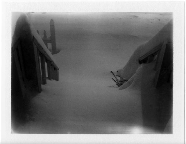 Front Stairway Nemo 2 9 13 Polaroid 450 Fuji FP3000B Cloud Filter