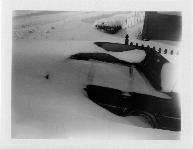 Volvo Snow Drift Nemo 2 9 13 Polaroid 450 Fuji FP3000B Cloud Filter
