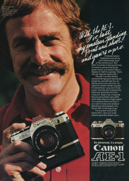 John Newcombe, Canon Shooter, And Tennis Legend