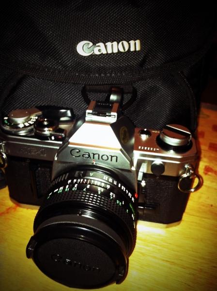 My Canon AE-1