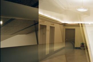 Double exposure, Canonet QL17 G-III, Portra 400.