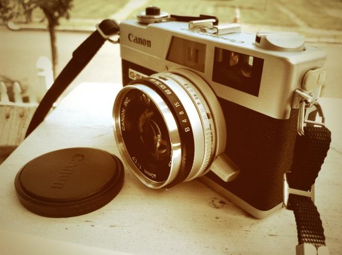 My Canon Canonet QL17 G-III