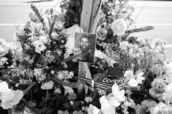 Memorial on Green Street.