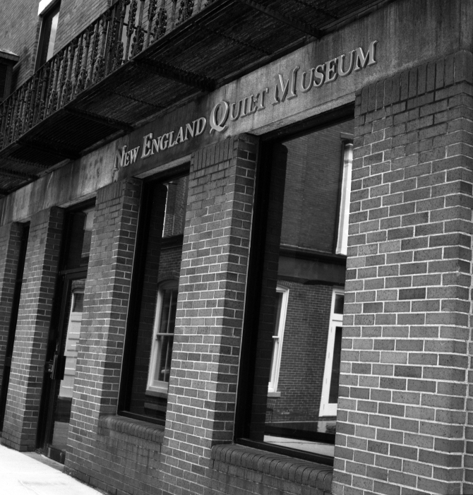 New England Quilt Museum on Shattuck Street.