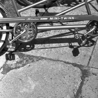 Fully restored Mini-Twinn Schwinn.