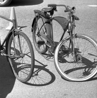 Other bikes really did have that vintage look.