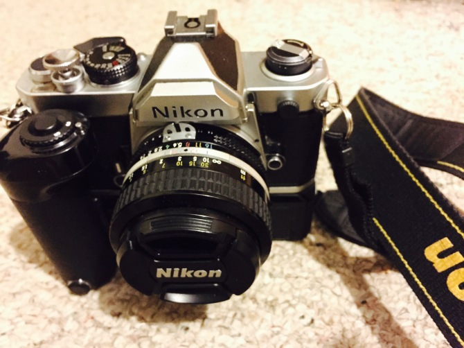 You paid HOW much for that beautiful Nikon FM?