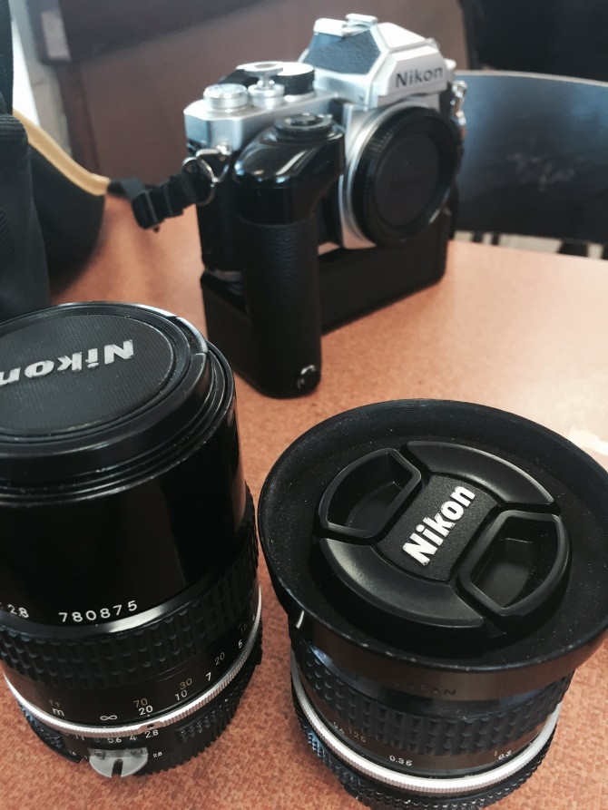 What lenses WON'T this camera take?